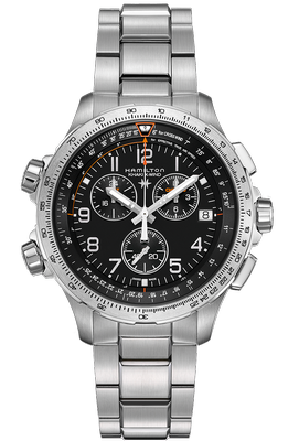 Hamilton Khaki X-Wind Chrono GMT 46mm Q H77912135