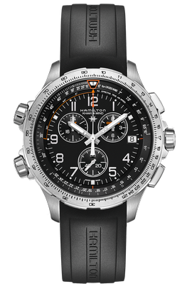 Hamilton Khaki X-Wind Chrono GMT 46mm Q H77912335