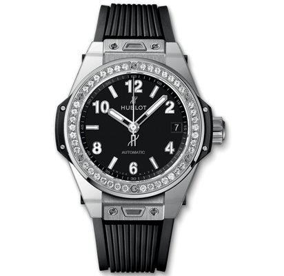 Hublot Big Bang Steel Diamonds 39mm 465.SX.1170.RX.1204