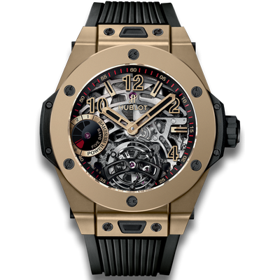 Hublot Big Bang Tourbillon Power Reserve 5 Days Full Magic Gold 45mm 405.MX.0138.RX