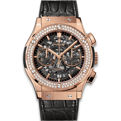 Hublot Classic Fusion Aerofusion King Gold Diamonds 45mm 525.OX.0180.LR.1104
