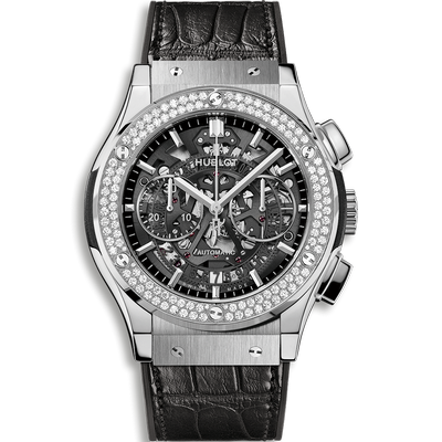 Hublot Classic Fusion Aerofusion Titanium Diamonds 45mm 525.NX.0170.LR.1104