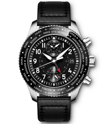 IWC Pilots Watch Timezoner Chronograph 46mm IW395001