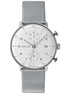 Junghans Max Bill Chronoscope 40mm 027 4003.44