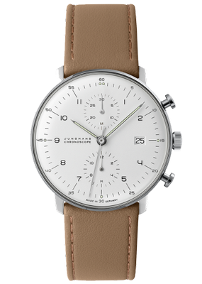 Junghans Max Bill Chronoscope 40mm 027 4502.00