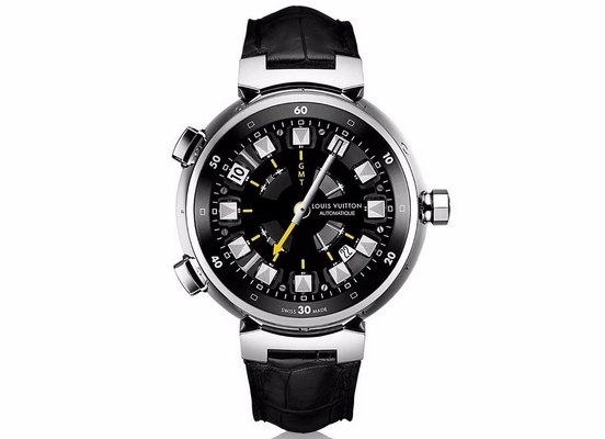 Louis Vuitton Tambour Spin Time GMT 44mm Q10C30