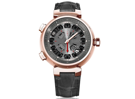 Louis Vuitton Tambour Spin Time GMT 44mm Q10C50