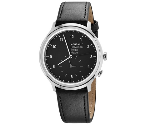 Mondaine Helvetica No1 Regular 2nd time zone 40mm MH1.R2020.LB C