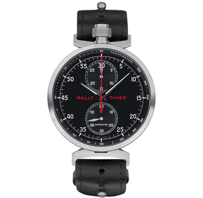 Montblanc TimeWalker Chronograph Rally Timer Counter 50mm 116103