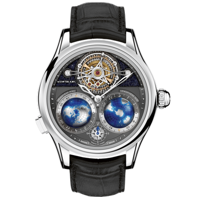 Montblanc Tourbillon Cylindrique NightSky Geosphères 47mm 115053