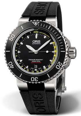 Oris Aquis Depth Gauge 46mm 01 733 7675 4154-Set RS