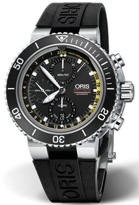 Oris Aquis Depth Gauge 48mm 01 774 7708 4154-Set RS