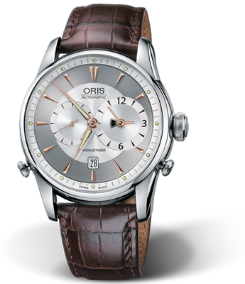 Oris Artelier Worldtimer 42.5mm 01 690 7581 4051-07 5 22 48