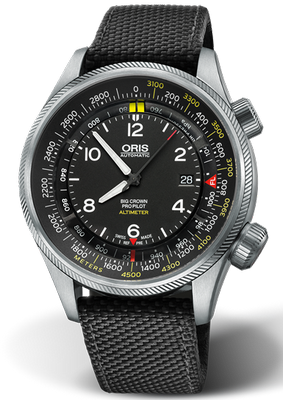 Oris Big Crown ProPilot 47mm 01 733 7705 4164-Set 5 23 15FC