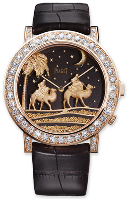 Piaget Secret and Lights Samarcande