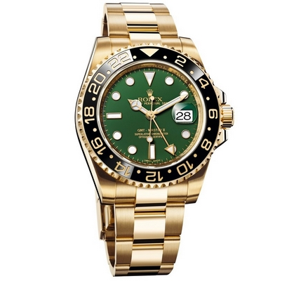 Rolex GMT Master II 40mm 116718 Green