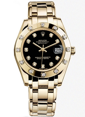 Rolex Pearlmaster 34mm 81318 0030