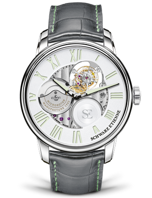 Schwarz Etienne La Chaux-de-Fonds Flying Tourbillon 44mm WCF09TSE16SS04AA