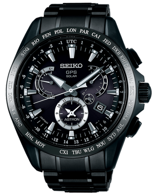 Seiko Astron 8X Dual Time 45mm Q SSE049