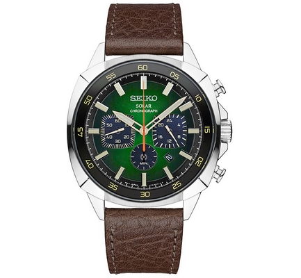 Seiko Recraft Series Solar Chronograph 43mm Q SSC513