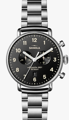 Shinola The Canfield 43mm Q 20018334-SDT-001385391
