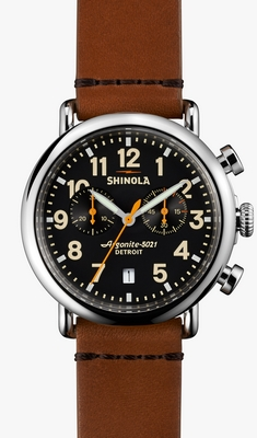 Shinola The Runwell Chrono 41mm Q 10000116-SDT-000009870