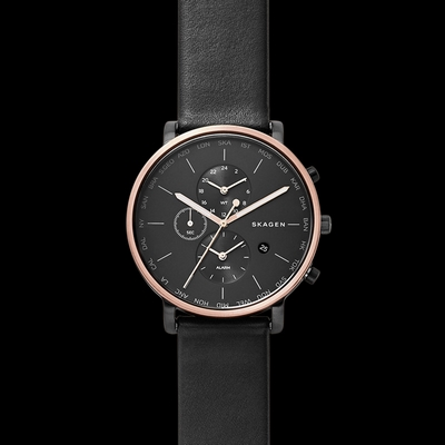 Skagen Hagen World Time and Alarm 42mm Q SKW6300P
