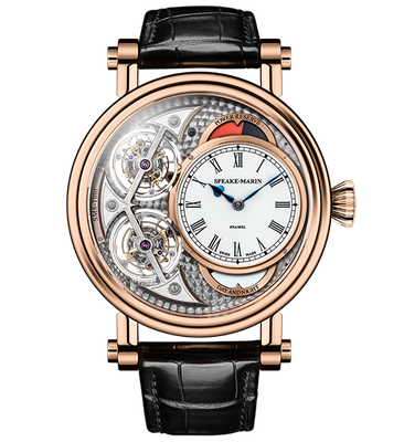 Speake Marin J-Class Magister Vertical Double Tourbillon 46mm