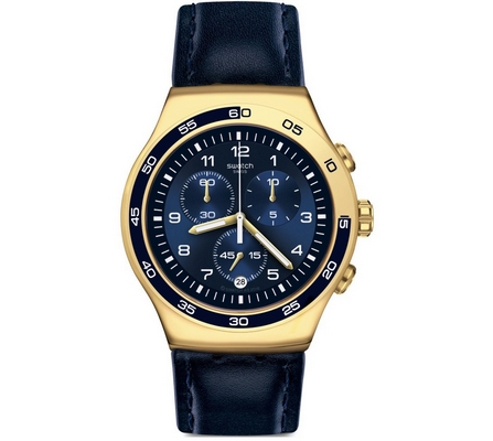 Swatch Golden Yacht 47mm Q YOG409