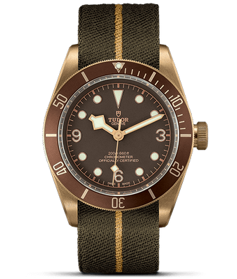 Tudor Heritage Black Bay Bronze 43mm M79250N-002