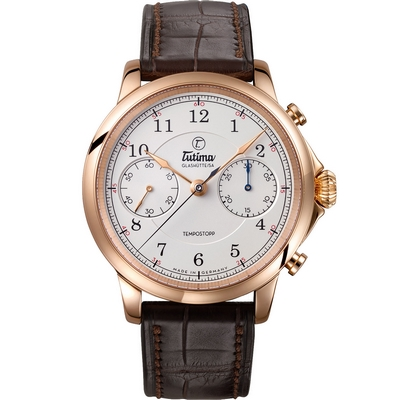 Tutima Glashuette Tempostopp 43mm 6650-01