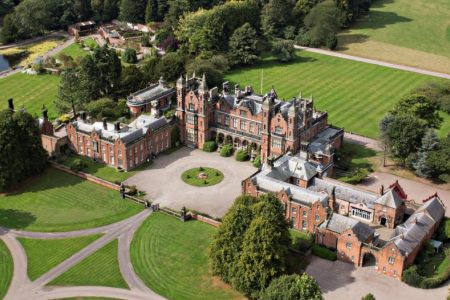 UK Cheshire Macclesfield Capesthorne Hall