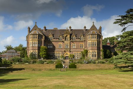 UK Devon Bolham Knightshayes Court