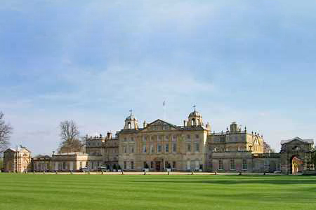 UK Gloucestershire Badminton Badminton House