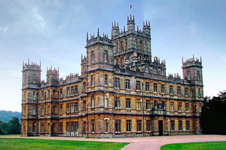UK Hampshire Newbury Highclere Castle