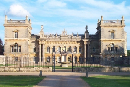 UK Lincolnshire Bourne Grimsthorpe Castle
