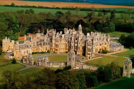 UK Lincolnshire Grantham Harlaxton Manor