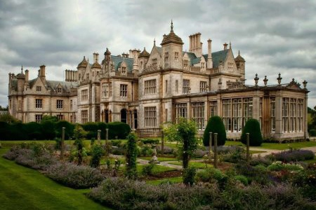 UK Lincolnshire Grantham Stoke Rochford Hall