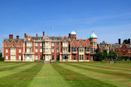 UK Norfolk Sandringham Sandringham House