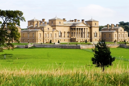 UK Norfolk Wells next the Sea Holkham Hall