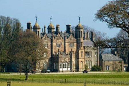 UK Northern Ireland Glenarm Glenarm Castle