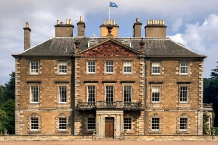 UK Scotland Athelstaneford Gilmerton House