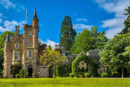 UK Scotland Beauly House of Aigas