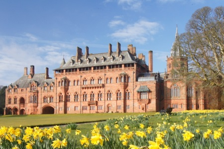 UK Scotland Bute Mount Stuart