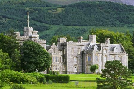UK Scotland Fort William Inverlochy Castle