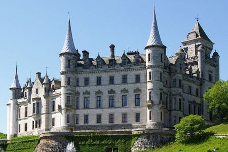 UK Scotland Golspie Dunrobin Castle
