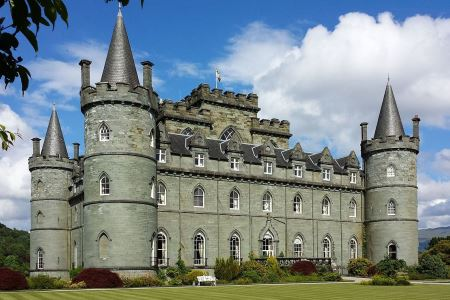 UK Scotland Inveraray Inveraray Castle