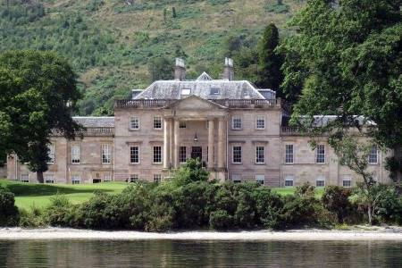 UK Scotland Loch Lomond Rossdhu House