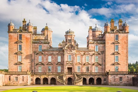 UK Scotland Thornhill Drumlanrig Castle