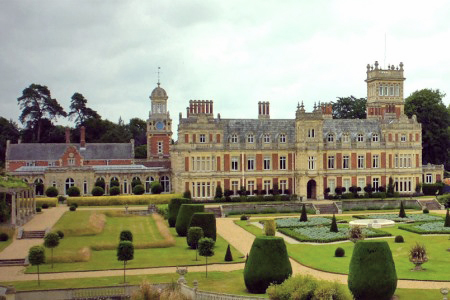 UK Suffolk Lowestoft Somerleyton Hall
